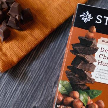 デカフェ チョコレートヘイゼルナッツ(スタッシュティー)~ 紅茶がすごく美味しいチョコレートデザートに大変身!