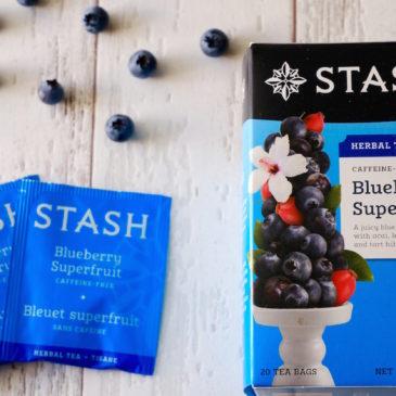 ブルーベリースーパーフルーツ (スタッシュティー)~ 口いっぱいにブルーベリーの香りが広がる