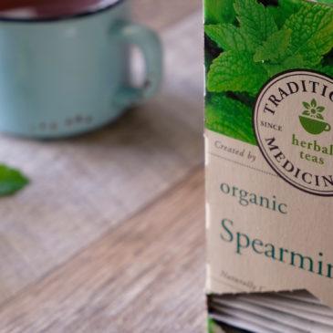 オーガニック スペアミント(トラディショナル・メディシナル)~ ペパーミントとは違った風味のスペアミントティー
