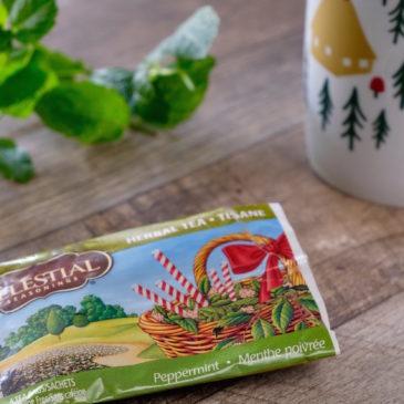 ペパーミント(セレッシャル・シーズニング)~ ペパーミントの爽やかな風味をギュッと閉じ込めたハーブティー
