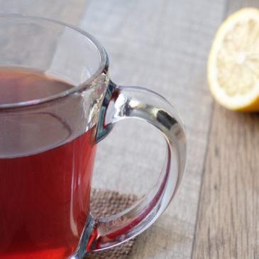 レモンジンガー(セレッシャル・シーズニング)~ 鮮やかな赤色の爽やかなレモンハーブティー