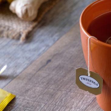 レモンジンジャー(トワイニング)~ 生姜がよく効いているけど水っぽい