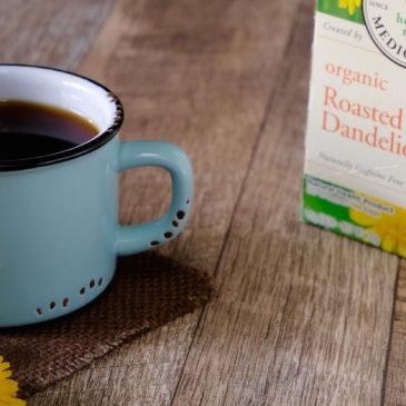 オーガニック焙煎タンポポ茶~10日間試した結果報告 ビックリする効果が!(トラディショナル・メディシナル)